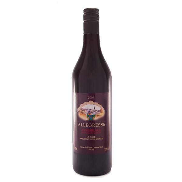 Fechy Cave Vieux Coteau Vin Rouge Assemblage Allegresse