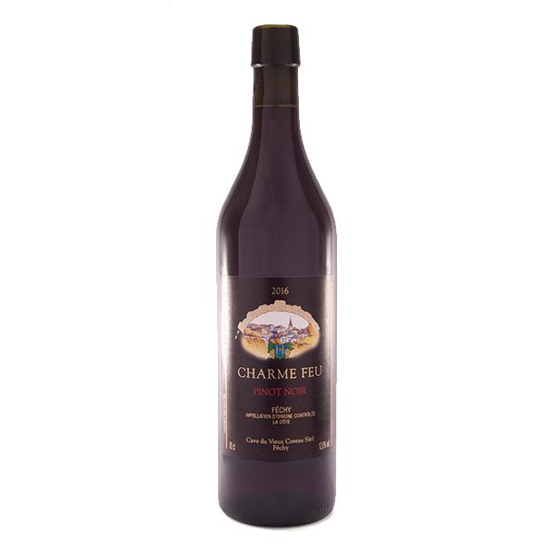 Fechy Cave Vieux Coteau Vin Rouge Pinot Noir Charme fou